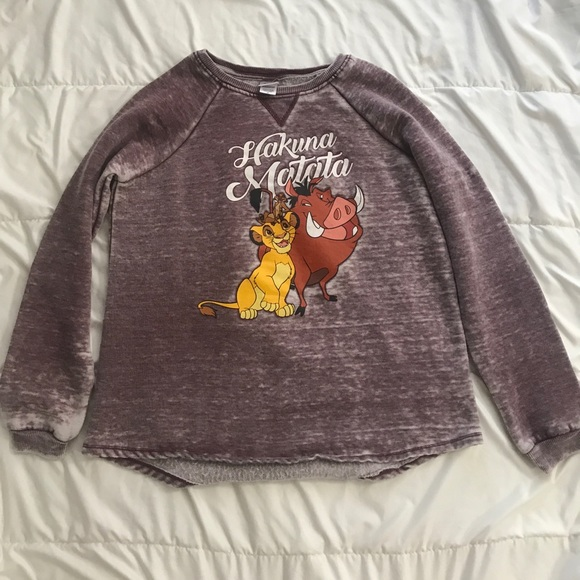 8490ba209 Disney Jackets & Coats | Lion King Hakuna Matata Sweater | Poshmark